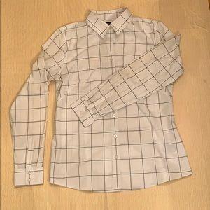 2/$25 - BANANA REPUBLIC Large Check Shirt - 12